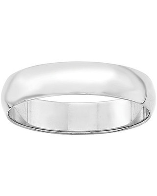 Personalized 5MM 14K Gold Wedding Band, 4