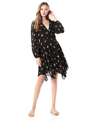 Ali & Jay Women's Chateau Afternoons Dress, Scattered Floral, M