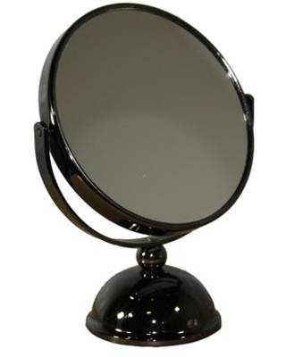 Round X Black Magnify Mirror Darby Home Co Magnification: X7