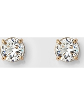 Women's Round Crystal Stud Earring - A New Day Gold