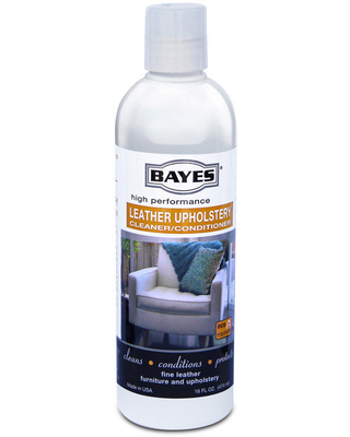 Bayes Leather Upholstery Cleaner And Conditioner, 16 oz.