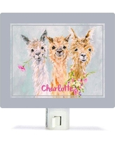 Oopsy Daisy Sweet Alpacas by Susan Pepe Night Light NB64015