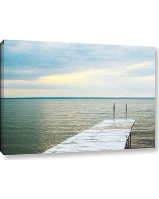 """Rosecliff Heights 'To The Water 1' Photographic Print on Wrapped Canvas ROHE5036 Size: 24"""" H x 36"""" W x 2"""" D"""