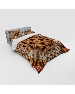Ethnic Duvet Cover Set East Urban Home Size: Queen Duvet Cover + 3 Additional Pieces