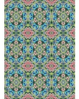 Can T Miss Bargains On Latitude Run Strouth Patterned Green Blue Orange Area Rug Wool Polyester In Blue Orange Green Size Round 7 Wayfair