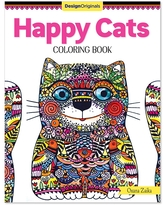 Fox Chapel Publishing Coloring Books - Happy Cats Coloring Book