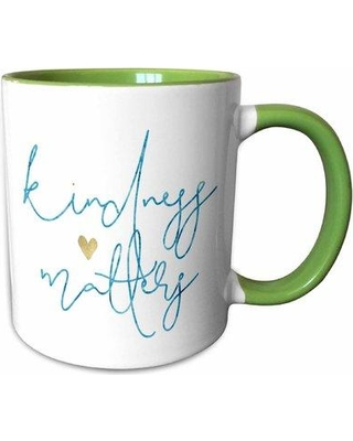 East Urban Home Clipper Picturing Kindness Matters Heart Coffee Mug W000472965