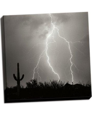 Union Rustic 'Electric Desert III' Photographic Print on Wrapped Canvas BF051752