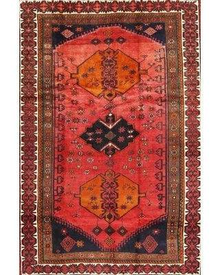 Savings On Bloomsbury Market Urias Traditional Red Black Area Rug X112034381 Rug Size Rectangle 4 X 6