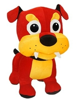 ToySource Barker The Bulldog Plush Collectible Toy