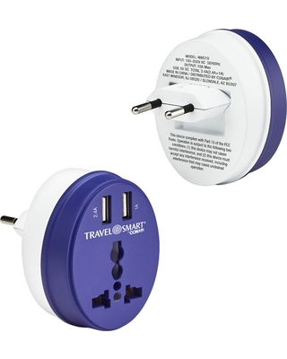 Cyber Week Bargains on Travel Smart EU Adapter Plug with Outlet and