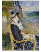 Deals On Spring At Catou 1872 5 By Pierre Auguste Renoir Painting Print On Wrapped Canvas Vault W Artwork Size 35 H X 47 W X 2 D