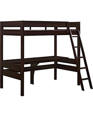 f4957cd6796c Amazing Savings on Dorel Living Harlan Wood Loft bed with Ladder and ...