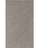 Modern Plush Solid Color Rug - Grey, 12' x 14', Pet and Kids Friendly Rug. Made in USA, Rectangle, Area Rugs Great for Kids, Pets, Event, Wedding