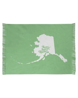 East Urban Home Home Sweet Anchorage Green Area Rug FCKI6168