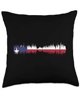 Discover Deals On Usa American Flag On Brick Wall National Country Pillow Cover East Urban Home