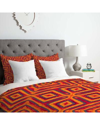 East Urban Home Duvet Cover Set EUNH5822 Size: King