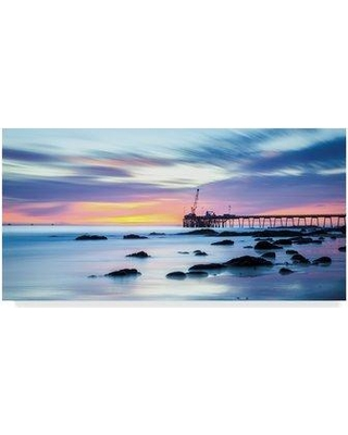 """Highland Dunes 'Say Goodnight' Photographic Print on Wrapped Canvas HGLN1281 Size: 24"""" H x 47"""" W x 2"""" D"""