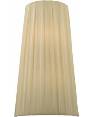 Meyda Lighting Channell Tapered And Pleated 9 Inch Wall Sconce - 119129