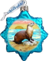 The Holiday Aisle Sea Otter Coastal Shaped Ornament BI078725