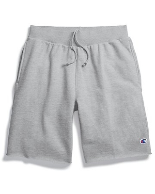 Champion Life Reverse Weave Cut-Off Shorts Oxford Grey XS