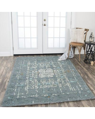 Williston Forge Gomes Hand-Tufted Wool Gray Area Rug BF024244 Rug Size: Rectangle 5' x 8'
