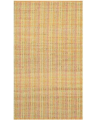 Highland Dunes Abia Handwoven Yellow Area Rug HLDS4016 Rug Size: Rectangle 3' x 5'