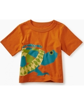 Tea Collection Tortoise Graphic Baby Tee