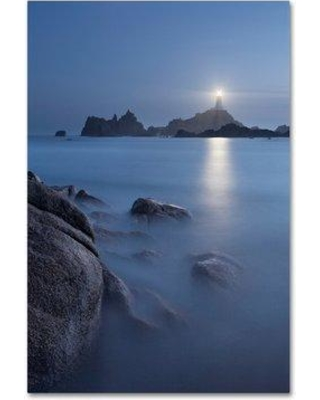 "Trademark Fine Art 'Mountain Scene 11' Photographic Print on Wrapped Canvas ALI19205-C Size: 32"" H x 22"" W"