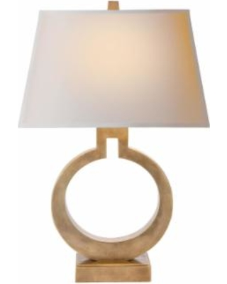 Visual Comfort and Co. E. F. Chapman Ring 27 Inch Table Lamp - CHA 8970AB-NP