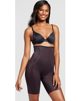 Maidenform Self Expressions Women's Firm Foundations Thighslimmer SE5001 - Black M