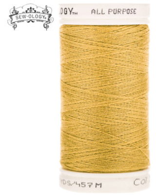 Gold All-Purpose Polyester Thread