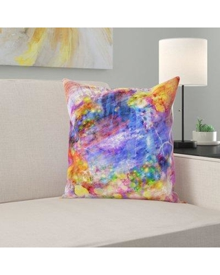 East Urban Home Color Throw Pillow W000065968