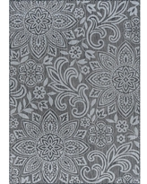 Find The Best Deals On Tayse Rugs Veranda Charcoal 2 Ft X 3 Ft Outdoor Accent Rug Grey