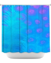 DiaNocheDesigns Bluebell Shower Curtain SHO-ChinaCarnellaBluebell