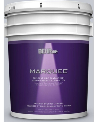 BEHR MARQUEE 5 gal. #MQ5-18 Paparazzi Flash One-Coat Hide Eggshell Enamel Interior Paint and Primer in One