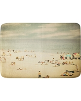 "Shannon Clark Vintage Beach Cushion Bath Mat (36""x24"") Tan - Deny Designs, Cappuccino"