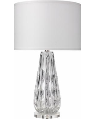 Spectacular deal on jamie young laurel clear glass ribbon table lamp jamie young laurel clear glass ribbon table lamp mozeypictures Image collections