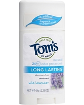 Tom's of Maine Long Lasting Lavender Natural Deodorant Stick - 2.25oz