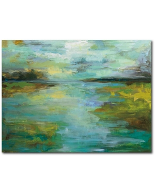 Courtside Market Serene Gallery-Wrapped Canvas Wall Art 20 in. x 16 in., Multi Color