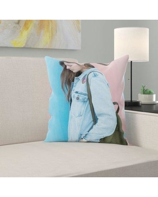 East Urban Home Throw Pillow W000972013