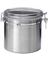 Jumbo Stainless Steel (Silver) Kitchen Canister