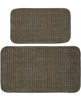 Garland Rug Berber Colorations 2 Piece Kitchen Set Grey