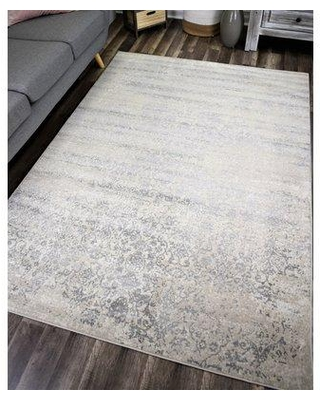 45 Off Bungalow Rose Donita Faded Gray Area Rug X111716939 Rug Size Rectangle 8 X 10
