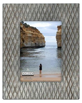 "Union Rustic Roloff Raised Diamond Picture Frame W002121935 Picture Size: 5"" x 7"""