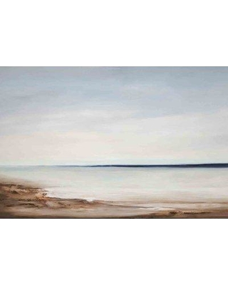 """Highland Dunes 'Majestic Vista III' Acrylic Painting Print on Canvas HLDS8604 Size: 18"""" H x 27"""" W"""