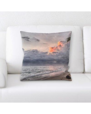 New Bargains On Latitude Run Gladeview Ocean And Sand Throw Pillow Cg246257
