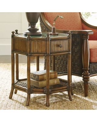 sweet cyber monday deals on tommy bahama home bali hai end table rh people com Tommy Bahama Bedroom End Tables Tommy Bahama Leather Table