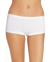 Women's Hanro Soft Touch Stretch Modal Boyshorts, Size Medium - White