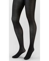 Women's 50D High Waist CT Opaque Tights Socks - A New Day Black S/M